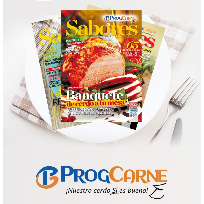 Progcarne lanza 6ta edición edición de su revista Sabores.
