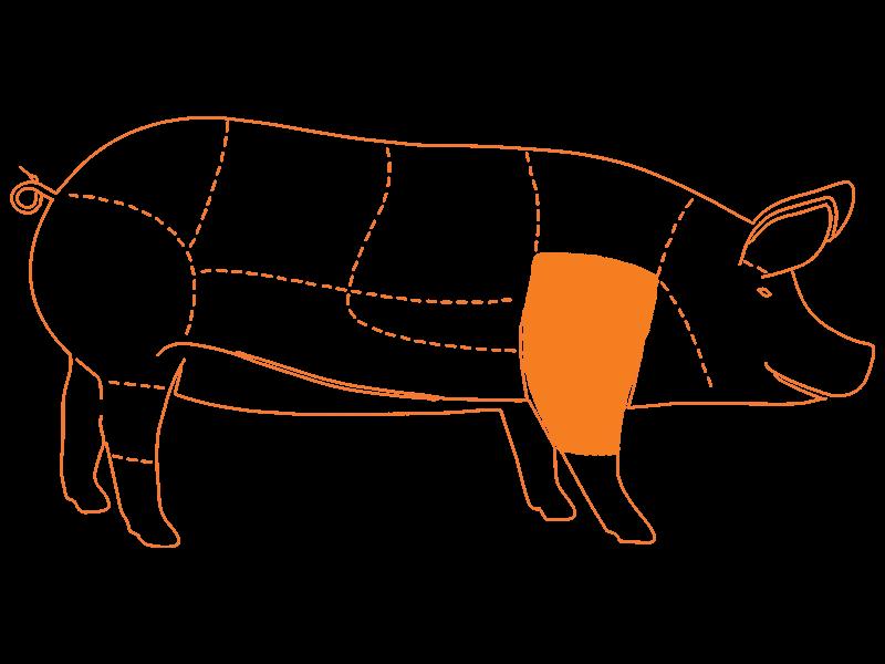 Paleta de Cerdo