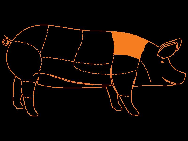 Nuca de Cerdo Deshuesada