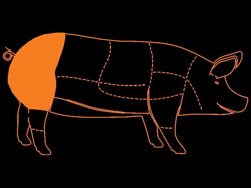 Asar de Cerdo Premium