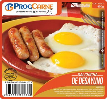 Salchicha para Desayuno