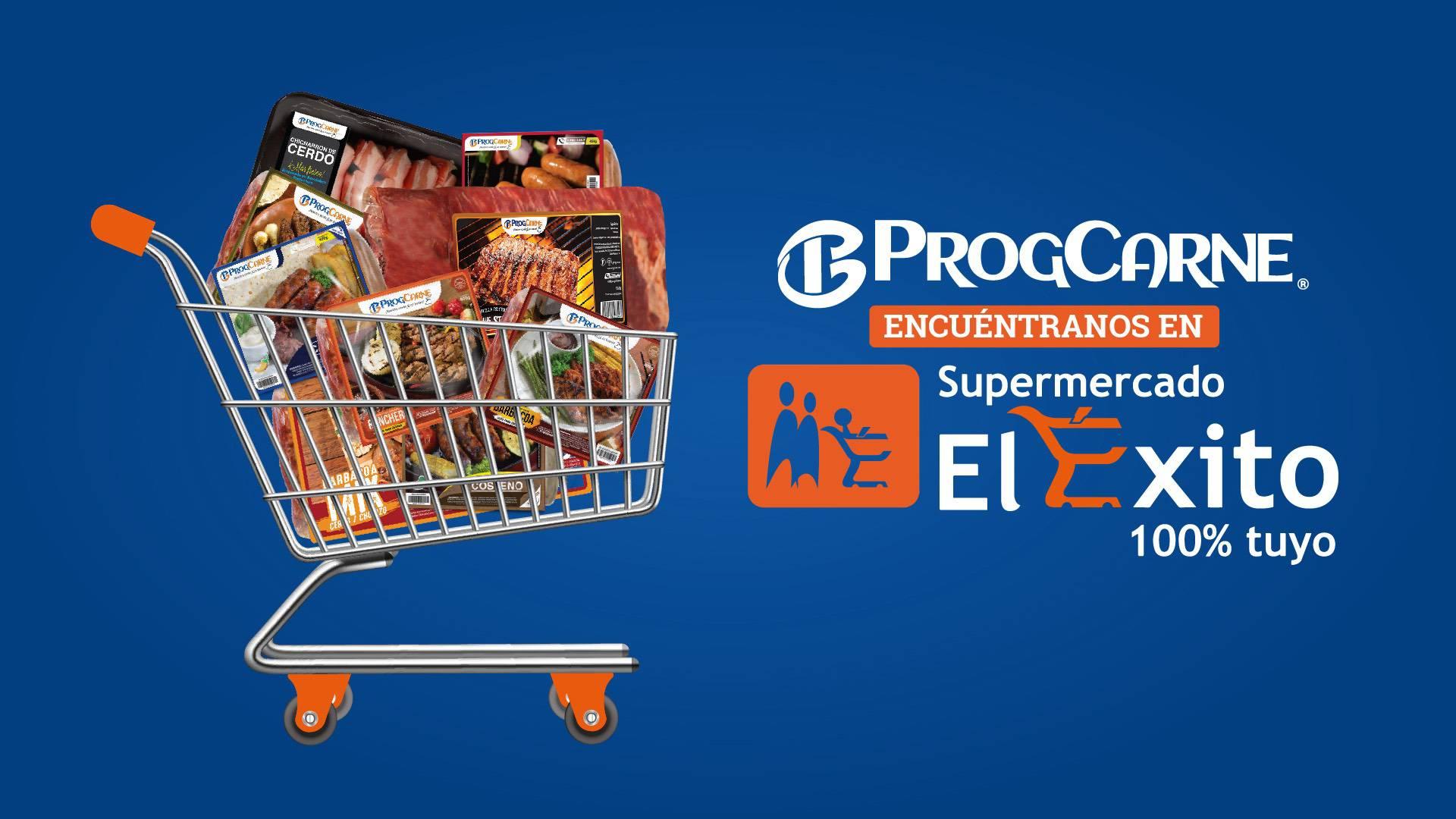 ProgCarne llegó a Supermercado El Éxito