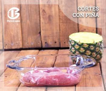 Cortes con Piña